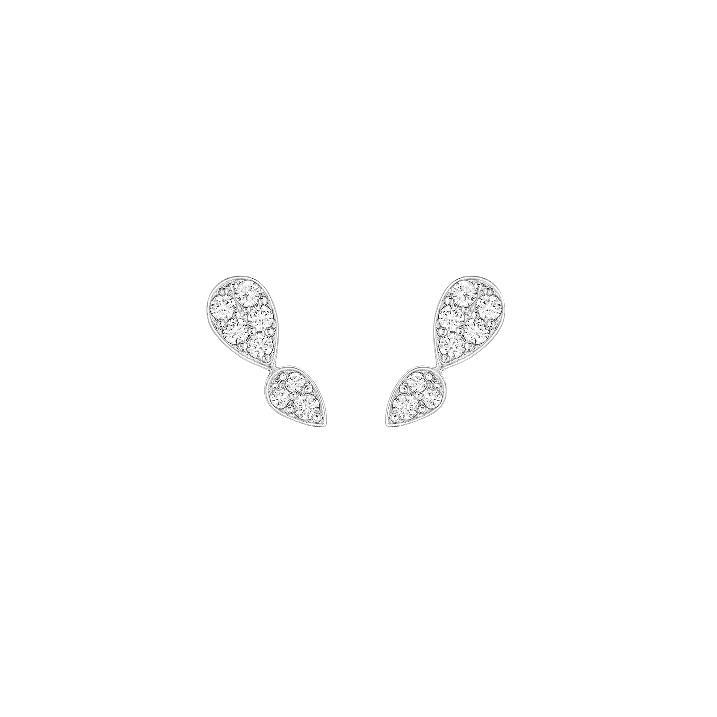 Earrings Alexandra for Burma - White Gold