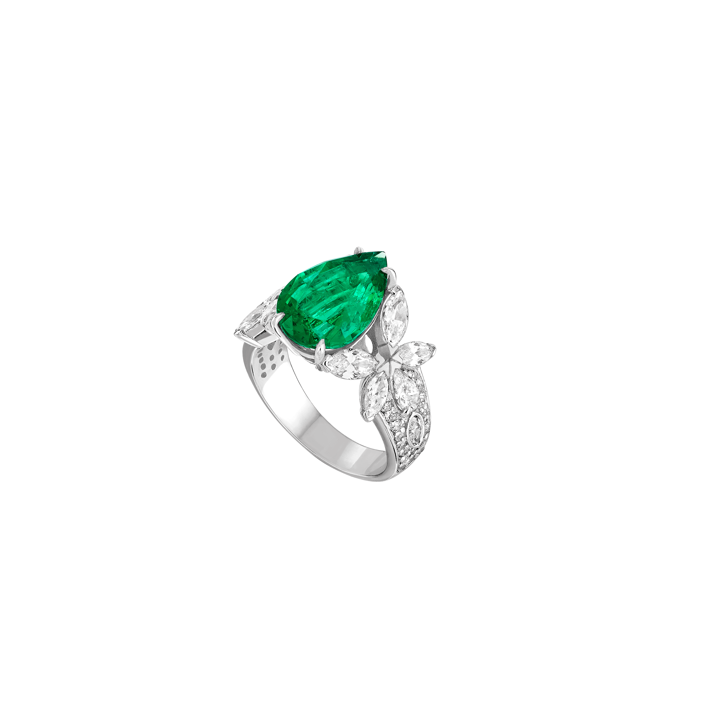 Ring Jardin Secret - White gold