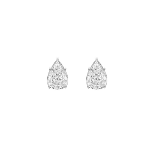 Earrings - White Gold