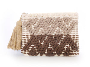 The Wood Bohemian Clutch