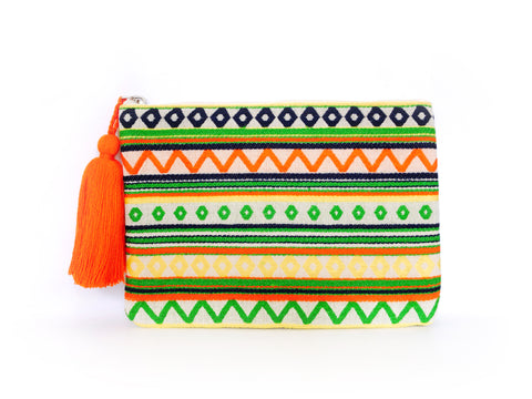 Tropical Bohemian Clutch