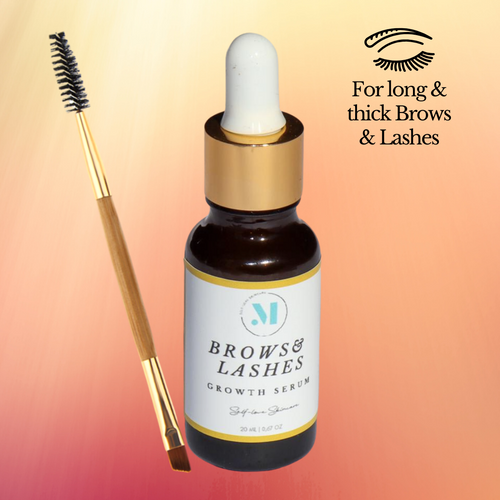 Lash & Brow Growth Serum with Brush