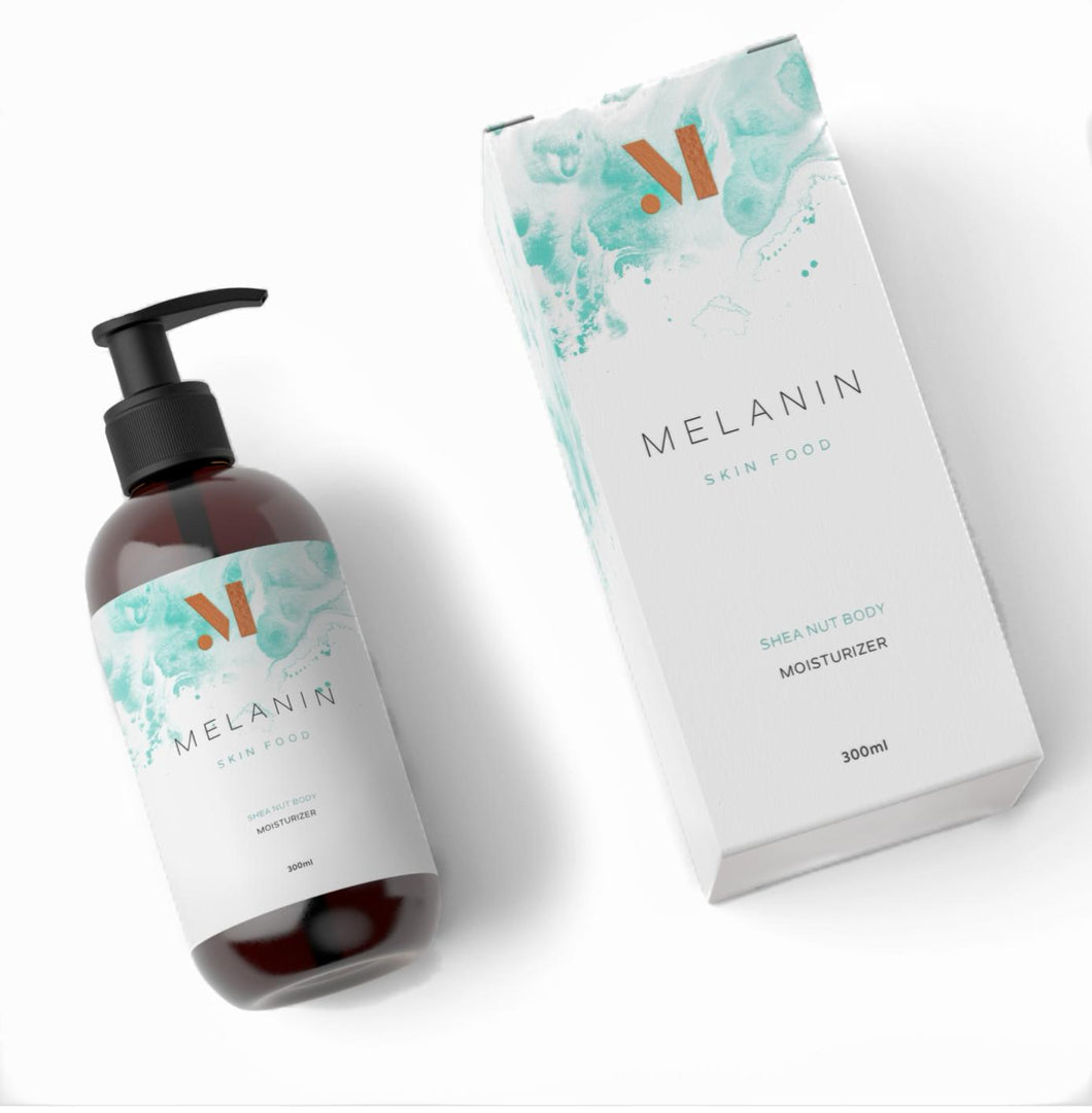 Melanin Skin food natural skin care for dark skin