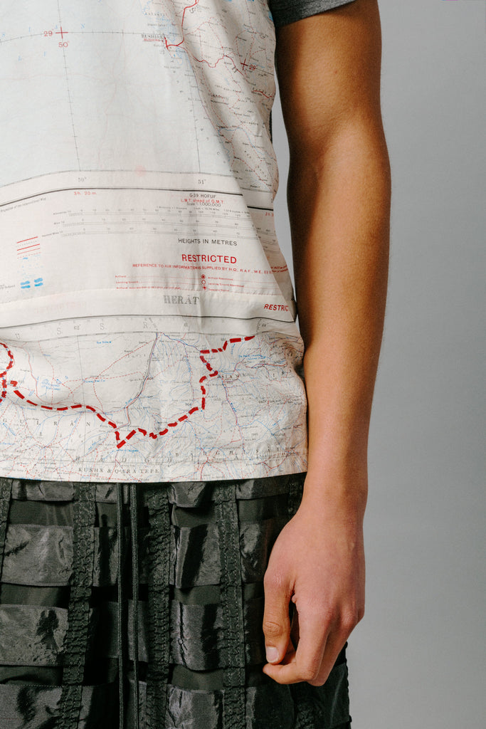 REMADE Silk Map T-Shirt