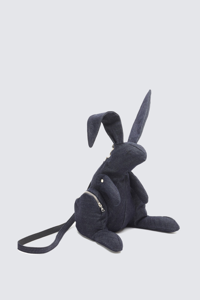 Denim Hare Bag