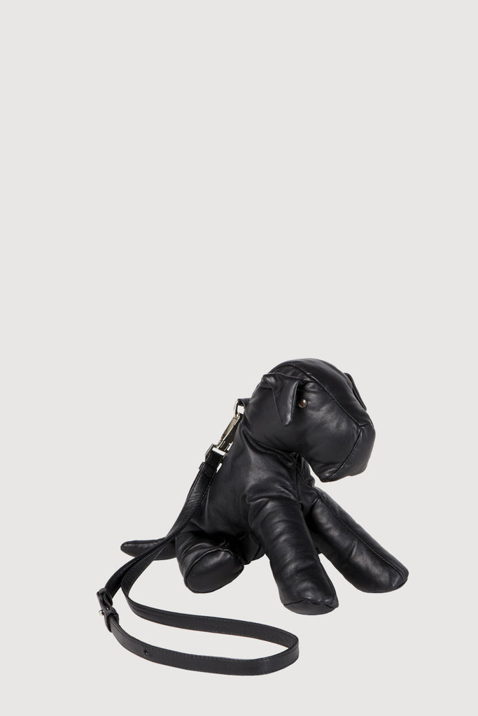 Leather Mutt Bag Black