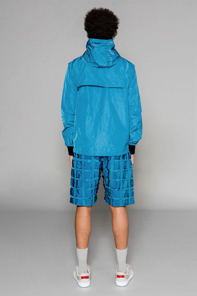 Inside Out Anorak Blue
