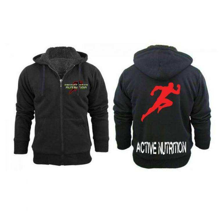 Active Zip Up Hoodie-Winter Edition