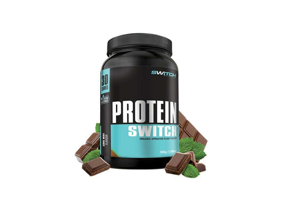 NEW IMPROVED Protein Switch (organic vegan protein) 30 serves
