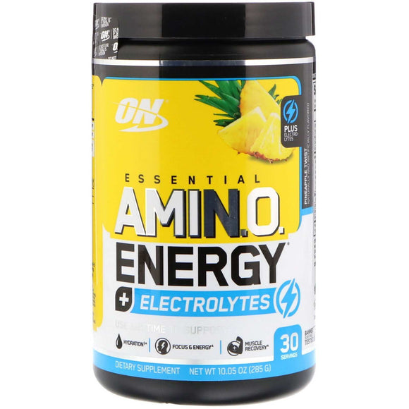 Essential Amino Energy + Electrolytes Optimum Nutrition 285g - Discount Active Nutrition - supplement store - supplement store near me - supplements store near me - recipes with protein powder - protein powder - protein powder vegan - protein powder near me
