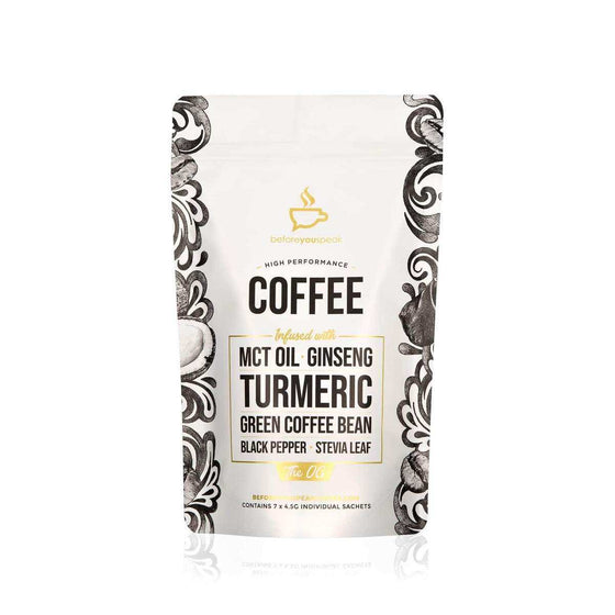 Before You Speak High Performance Coffee OG 7 Serve