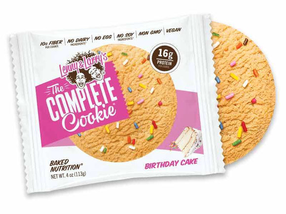 Complete Cookie by Lenny & Larry's - Discount Active Nutrition - supplement store - supplement store near me - supplements store near me - recipes with protein powder - protein powder - protein powder vegan - protein powder near me