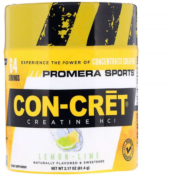 CON-CRET Promera Sports Patented Creatine HCL 64 Serves - Discount Active Nutrition - supplement store - supplement store near me - supplements store near me - recipes with protein powder - protein powder - protein powder vegan - protein powder near me