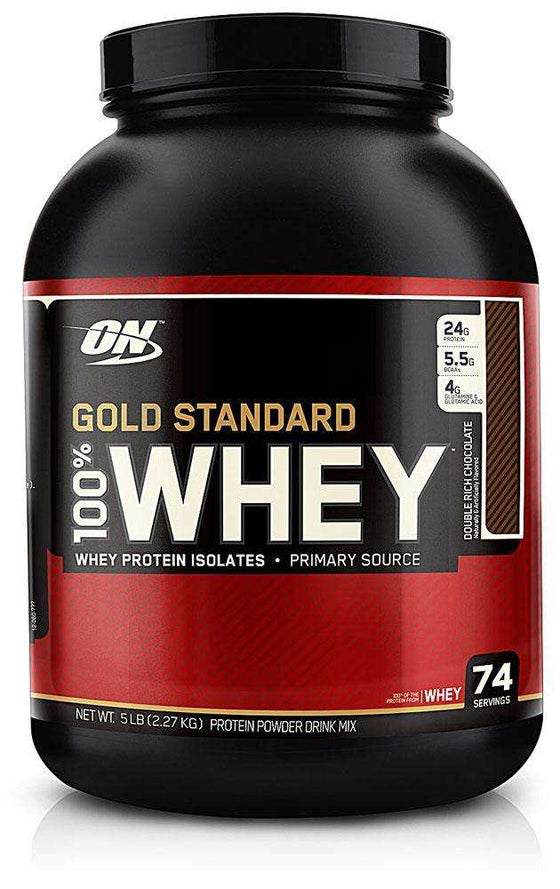 100% Whey Gold Standard 5lb + FREE 5 serves Pre Workout