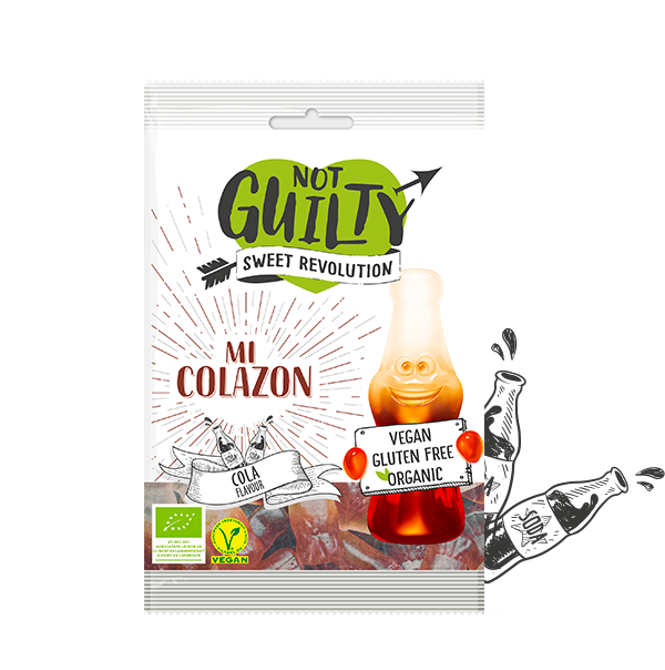 Vegan Lollies by Not Guilty - Sweet Revolution 100g