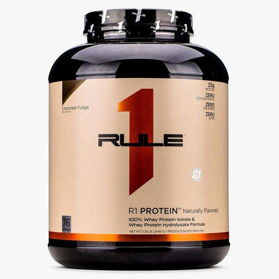 R1 PROTEIN NATURALLY FLAVORED Whey Isolate/Hydrolysate 76 Serves