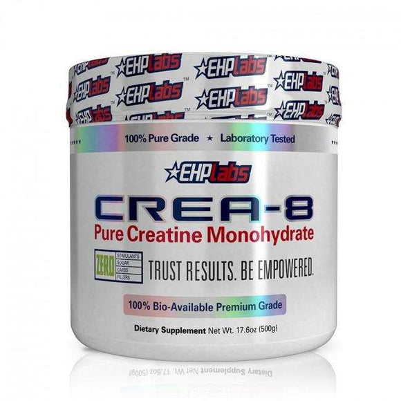 Crea-8 Pure Creatine 500g - EHP Labs - Discount Active Nutrition - supplement store - supplement store near me - supplements store near me - recipes with protein powder - protein powder - protein powder vegan - protein powder near me