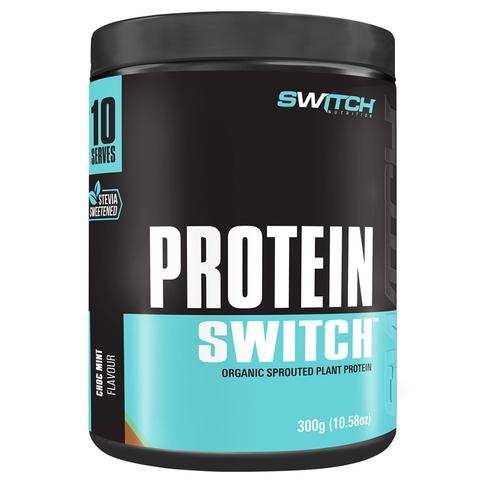 NEW IMPROVED Protein Switch (organic vegan protein) 10 serves