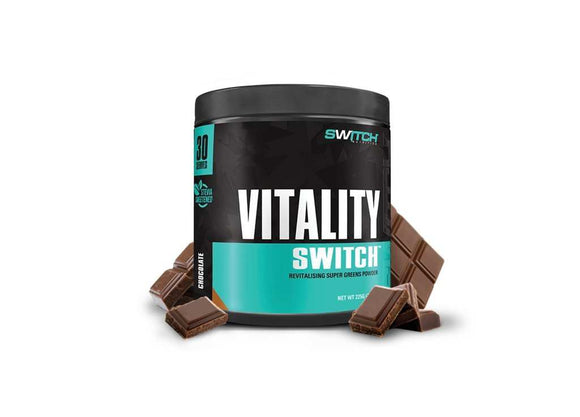 Vitality Switch 30 serves by Switch Nutrition - Discount Active Nutrition - supplement store - supplement store near me - supplements store near me - recipes with protein powder - protein powder - protein powder vegan - protein powder near me