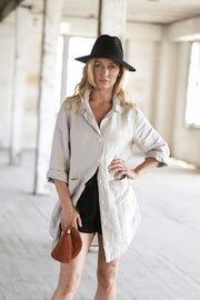 Natural Essential Linen Shirt
