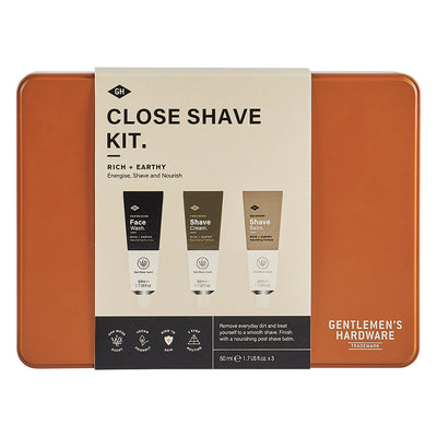 Close Shave Kit- Gentleman's Hardware