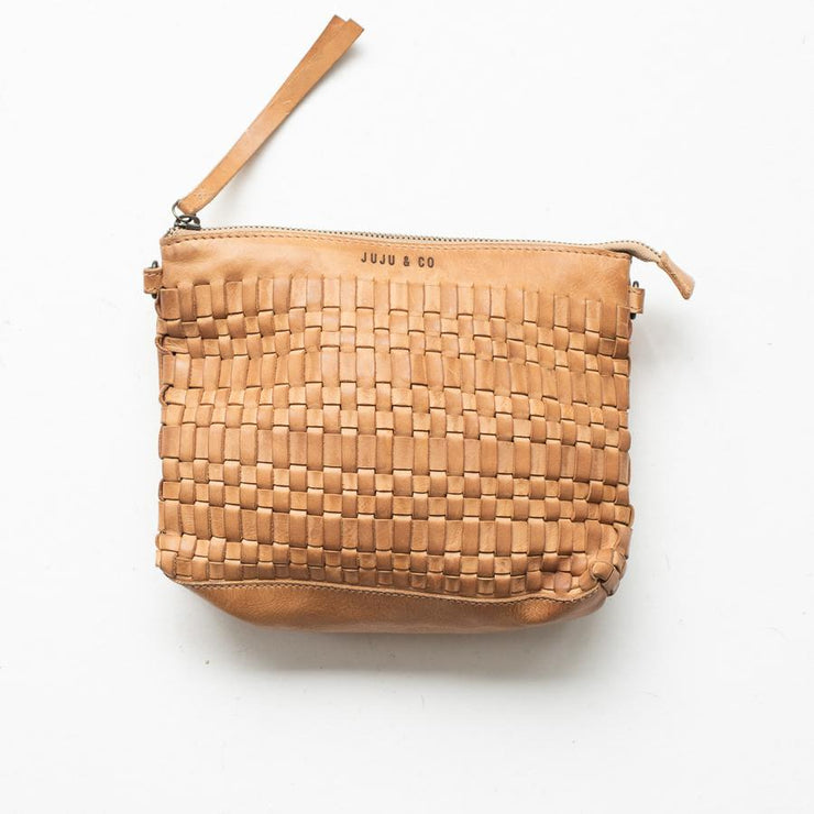Juju and Co - Woven Pouch Bag Natural