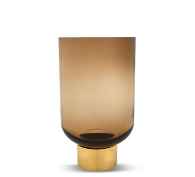 Luxor Glass Vase- Butterscotch by Marmoset Found