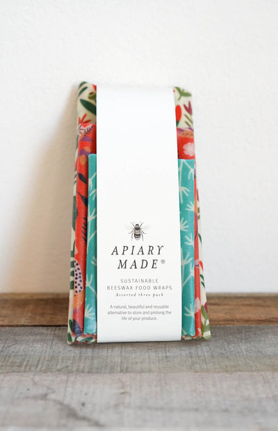 Apiary Made - Assorted Pack of Three Food Wraps