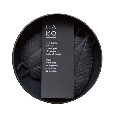 HA KO BLACK Paper Incense - Relax set of 6