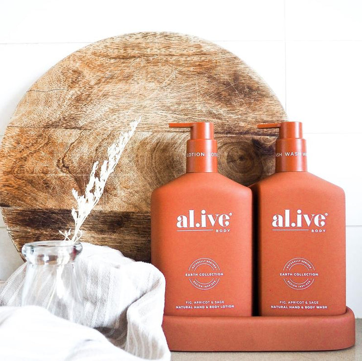 Al.live Hand & Body Lotion -Fig, Apricot & Sage