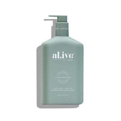 Al.live Hand & Body Lotion - Kaffir Lime & Green Tea