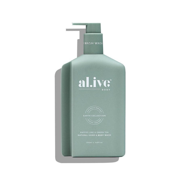 Al.live Hand & Body Wash - Kaffir Lime & Green Tea