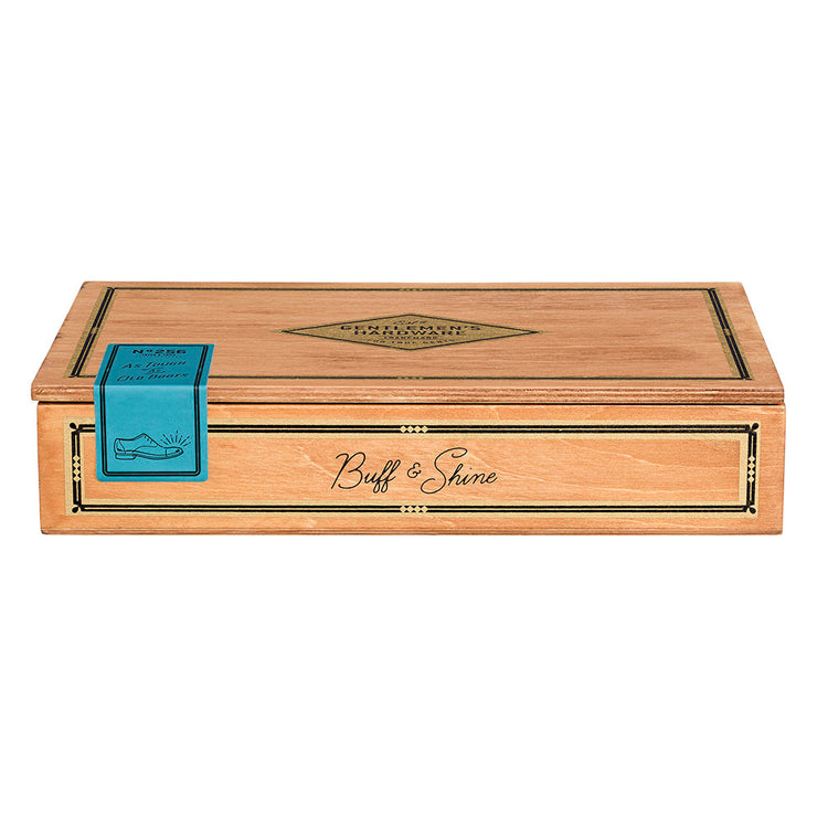 Shoe Shine Cigar Box- Gentleman's Hardware