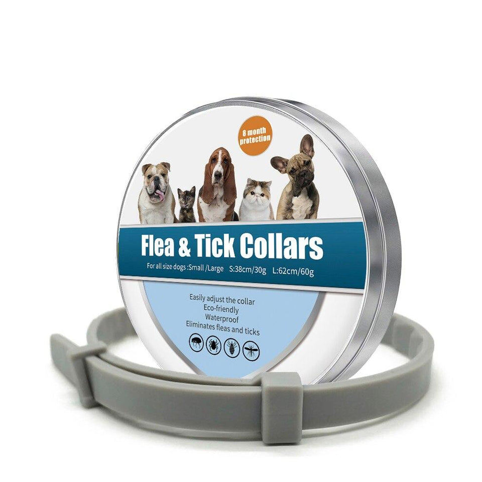 8 MONTH FLEA & TICK PREVENTION COLLAR