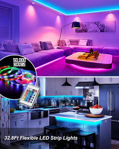 LED Color Changing Strip Lights