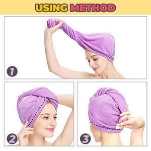 Fiberdry™ -  Rapid Drying Hair Towel