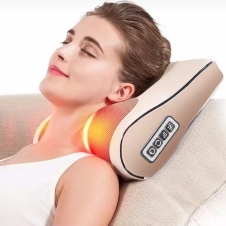 Upgraded Massager™️ Heated Shiatsu Massage Pillow