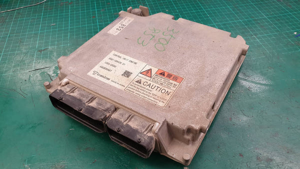 ISUZU Truck - Exhaust Throttle Solenoid Fault    ECU