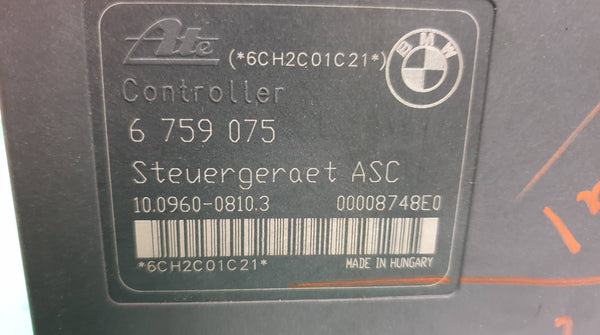 BMW ATE ABS MODULE  _ INTERNAL ERROR