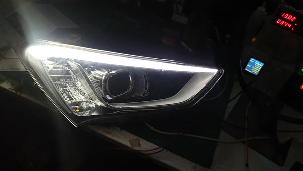 HYUNDAI SANTA FE 2015  Head Light /  Park Light Failure
