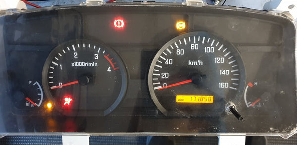ISUZU/ Mazda  ELF  2014  Instrument cluster repair