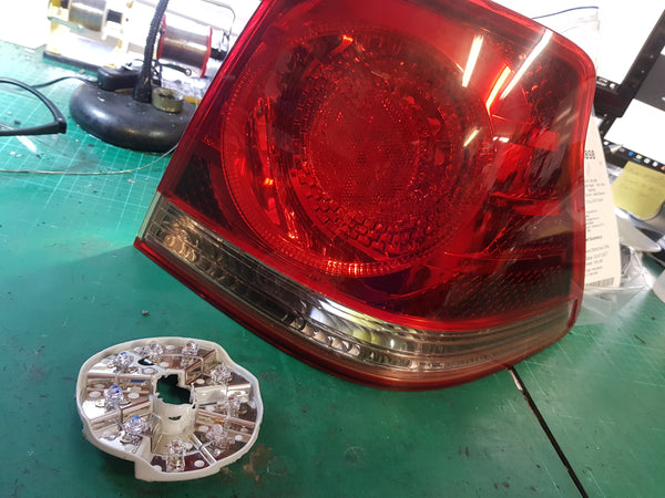 Crown Tail light Lamp repair