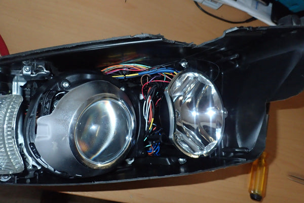 Headlight Rewiring Service