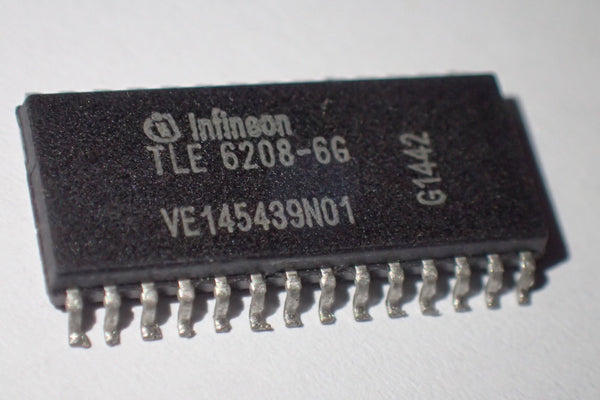 TLE 6208 TLE 6208-6G, Hex Half Bridge driver, Double six driver IC, DSO-28