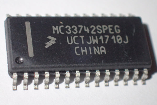 MC33742SPEG, System basis chip, with canbus transceiver