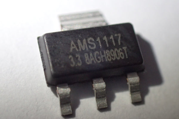 AMS1117, 3V3 3.3V LDO voltage regulator, SOT-223