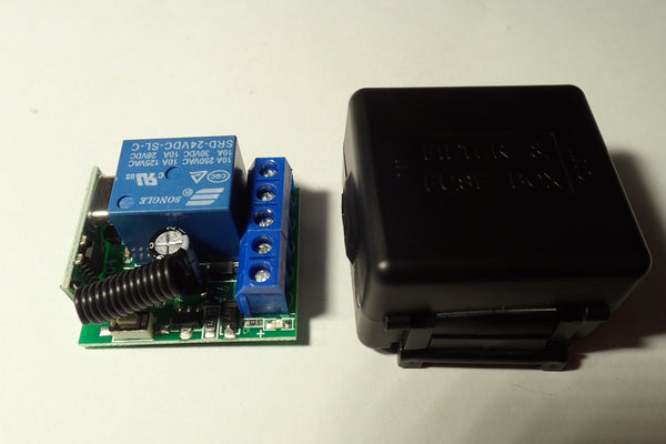 1 Chanel relay board with enclosure