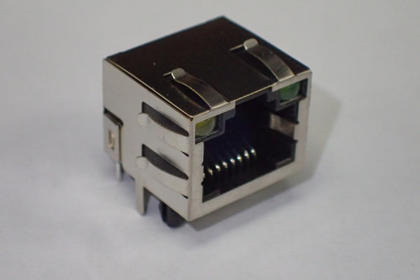 Connector RJ-45 PCB mount with LED