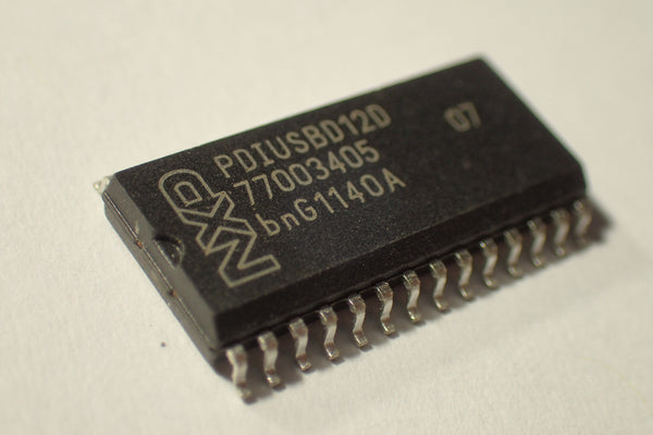PDIUSBD12D, USB parallel Interface, DSO-28