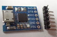 CP2102 UART programming moodule with micro USB